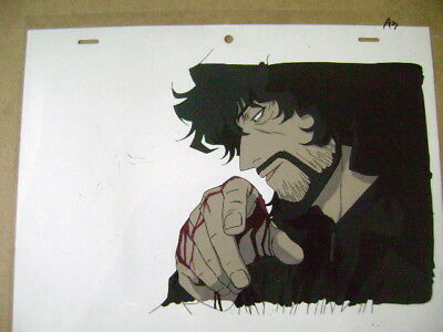 Cowboy Bebop Movie Vincent Anime Production Cel 2
