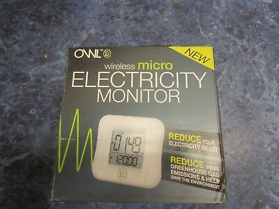 NEW Owl Micro Wireless Electricity Monitor CM130A