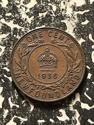 1936 Newfoundland Large Cent Lot#7976