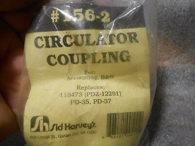 Sid Harvey's Circulator Coupling 156-2 for B&G Armsrtong