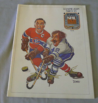 1980 NHL Toronto Maple Leafs vs Montreal Canadiens Old Timers Hockey Game