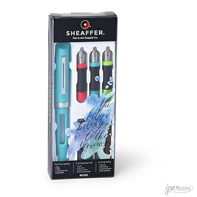 Sheaffer Calligraphy Fountain Pen Introductory Kit, 1.0 - 1.5 - 2.0mm Nibs