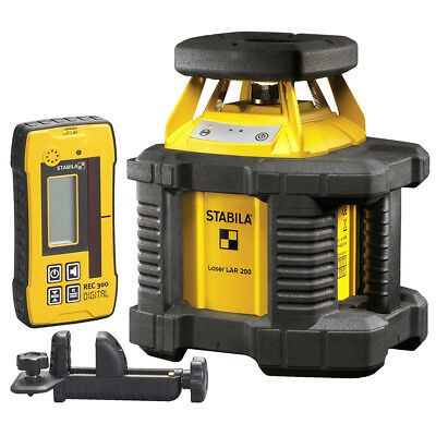 Stabila LAR200 Self-Leveling OFF ROAD Laser System w/ Laser Elevation Rod