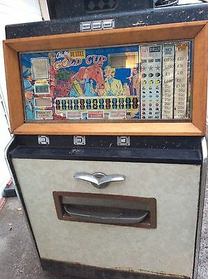 PAYOUT COUNTER UNIT from BALLY DELUXE GOLD CUP Arcade gambling machine 1967