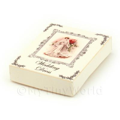 Dolls House Miniature Opening Wedding Gown Box Style 5