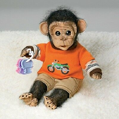 Cosmo's Day of Play  - Handfuls of Fun - Monkey - Ashton Drake Doll