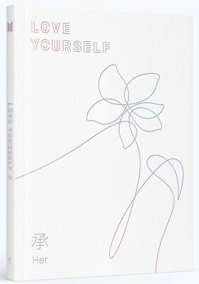 BTS - LOVE YOURSELF 承 [Her] [E ver.] CD+Photobook+Photocard+Poster+Free Gift