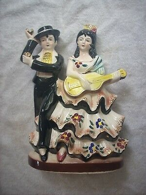 Spanish Couple Figurine