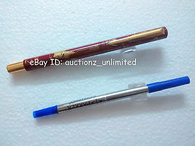 Parker Vector Special Edition GT Roller Ballpoint Pen Time Check Maroon Newloose
