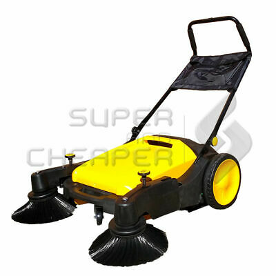 INDUSTRIAL FLOOR Walk behind SWEEPER HEAVY DUTY 40L WET DRY 3600SQM/H