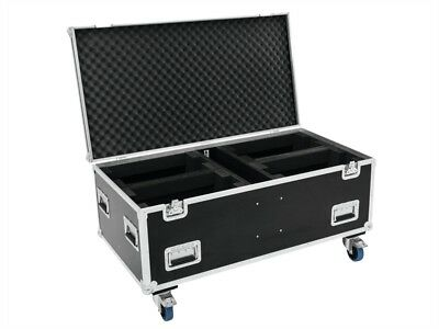Roadinger Professionelles Case für 4x Futurelight Wave LED-Moving-Leiste