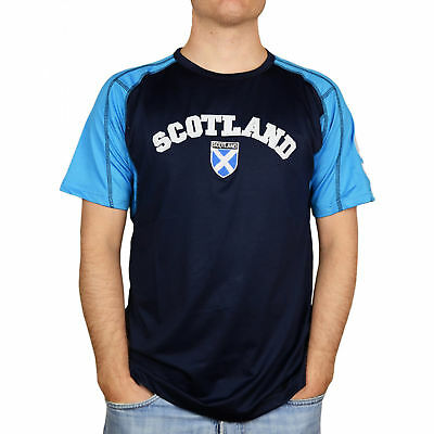 Heritage of  Scotland Men's Embroidered Scottish No 9 T-Shirt