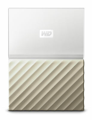 Western Digital My Passport Ultra 2017 weiß 1TB, USB 3.0 externe Festplatte