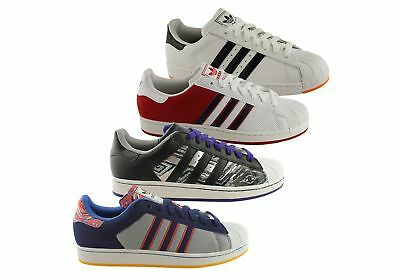 New Adidas Originals Superstar 2 Cb Mens Lace Up Shoes Sneakers