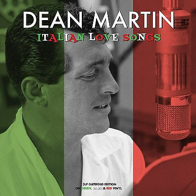 Dean Martin - Italian Love Songs (180g Green/White/Red Vinyl 3LP) NEW/SEALED