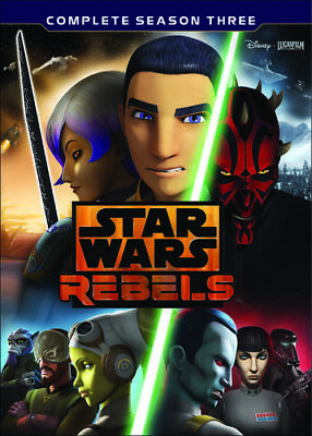 Star Wars Rebels: The Complete Season 3 - 4 DISC SET (DVD New)