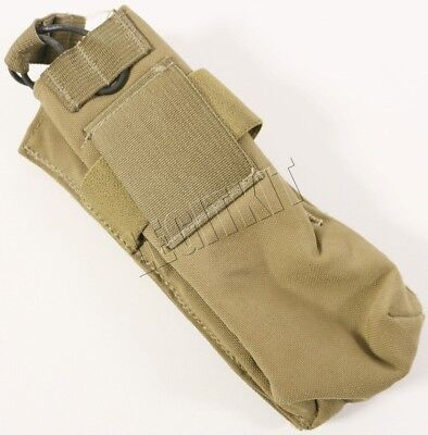 London Bridge LBT-9017A Padded MBITR Radio Pouch No Buckle PRC-148 Coyote Brown