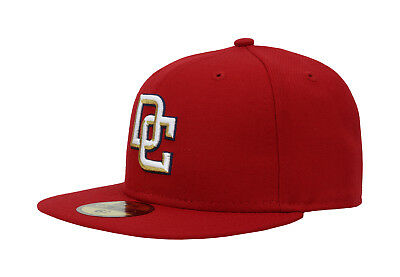 "New Era 59Fifty Cap MLB Washington Nationals '08 ""DC"" Kids Red Hat"