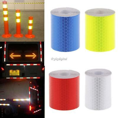 3M Night Reflective Safety Warning Conspicuity Tape PVC Film Truck Car Sticker