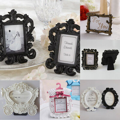 NEW Retro Cute Resin Rahmen Baby Photo Frame Creative Wedding Home Decor Gift
