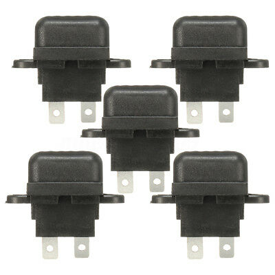 5X 30A Amp Auto Blade Standard Fuse Holder Box Set Car Boat Truck With Cover