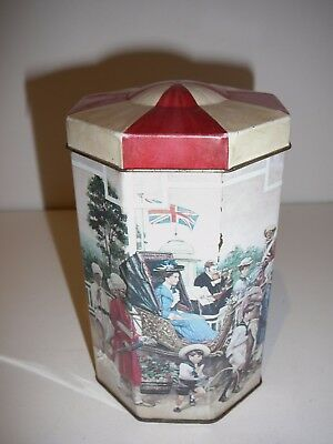 Oxbridge Tea Tin Big top Circus Colonial Scenes