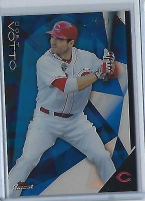 2015 Topps Finest Joey Votto Blue Refractor #47 (Reds) 101/150  Look!! Hot!