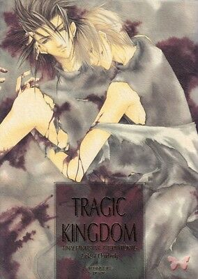 Final Fantasy 7 VII FF7 FFVII BL Full Color Doujinshi Comic Zack x Cloud Tragic
