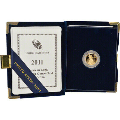 2011-W American Gold Eagle Proof (1/10 oz) $5 in OGP
