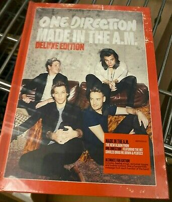 Made in the A.M. [Deluxe Edition] by One Direction (UK) (CD, Nov-2015, CD+BOOK