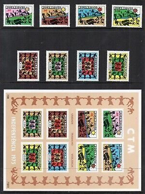 MOZAMBIQUE 1975 DANCE & INDEPENDANCE Stamps MINI SHEET Unmounted Mint REF:QG397