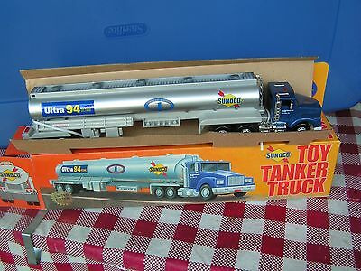 1994 Sunoco toy tanker truck series 1-serial # 1211 RARE not normal tanker--L@@K