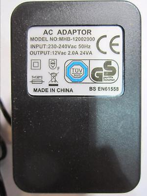 Replacement AC Adaptor Power Supply for Roland TD-7 DRUM MODULE AC12V 2000mA