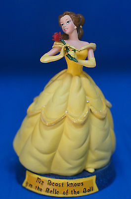 Disney Beauty My Beast knows I'm the Belle of the Ball Figurine Retired 17866