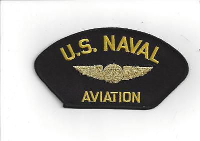 Us Naval Aviation Aircrew Wing Hat Patch Uss Navy Crew Topgun Pin Up Gift Wow