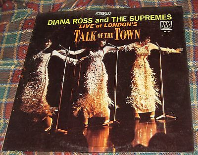 Diana Ross Supremes Live At Londons Talk Of The Town Vinyl LP Motown MS 676
