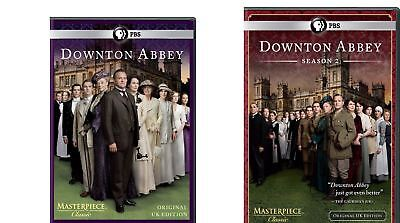 Downton Abbey Complete Season 1 and 2 Series 1 and 2 (DVD 2012, 6-Disc Set) NEW