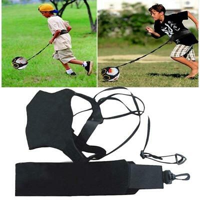 1 Set Football Kick Trainer Skills Solo Soccer Practice Training Waist Belt LG