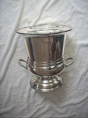 Large Silver Plate Champagne Ice Bucket
