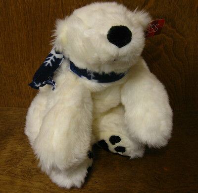 """Russ Berrie #4907 ICEBERG, 7.5"""", mint/tags NEW from Retail Store Polar Bear"""
