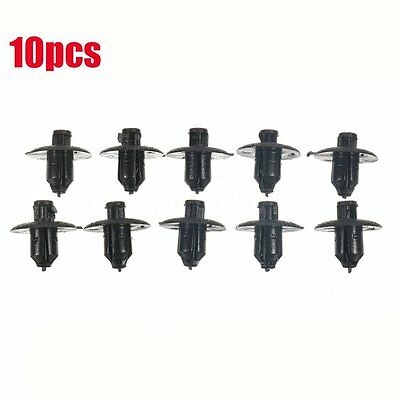 10PCs Engine Side Cover Clips Retainer #90467-07117 For Toyota ES IS Lexus Black