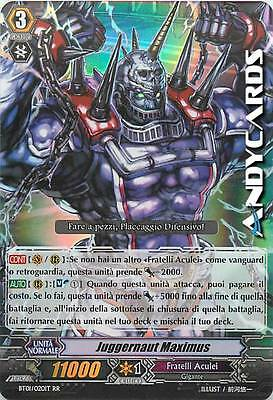 Juggernaut Maximus ☻ Doppia Rara RR ☻ BT01 020IT ☻ Vanguard ANDYCARDS