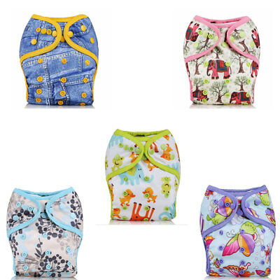 Washable Waterproof Baby Diaper Cloth Pocket Reusable Breathable Nappy Cover