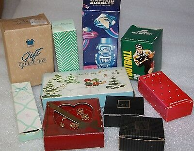 Collectible vintage Avon gifts x 10 items soap car goose robot vintage earrings
