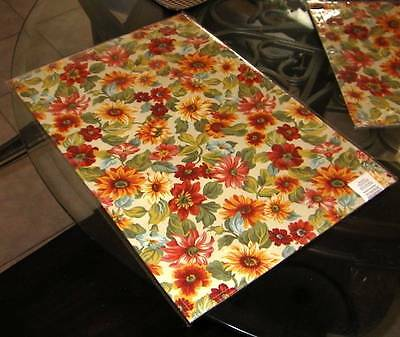 Longaberger Reversible PLACEMATS - Set of 2 - SUNFLOWER - NEW & On Hand!