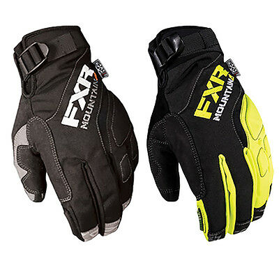 FXR Durable Mountain Riding 100g Thinsulate Waterproof Attack Lite Gloves