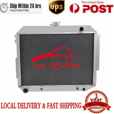 3Row Alloy Radiator Fits Dodge Polara/Monaco/Plymouth Fury 7.2L 440 Engine 66-70