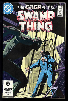Saga Of Swamp Thing (1982) #21 1st Print New Origin Swamp Thing Alan Moore VF/NM