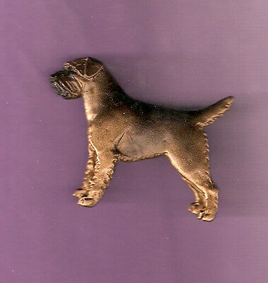 Border Terrier Brooch Pin Jewelry