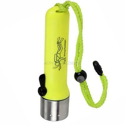 Underwater Diving Dive LED Flashlight Lamp Waterproof Light Outdoor Torch